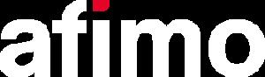 afimo logo białe